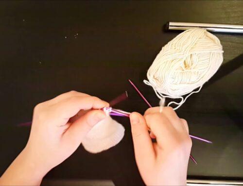 5 şişle çorap (topuk) yapımı